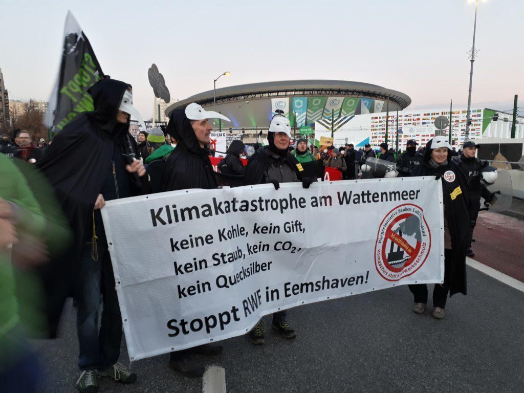 Besuch beim Weltklimagipfel in Katowice