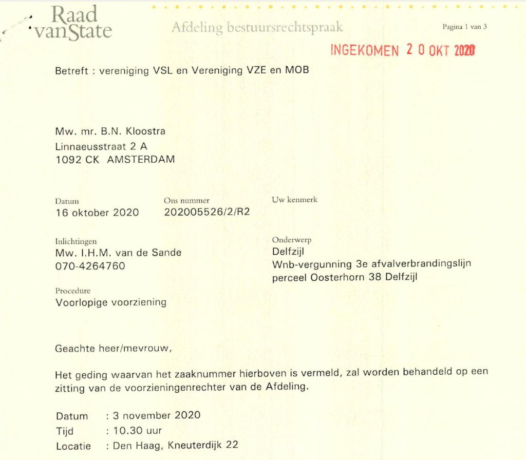 Einladung Anhörung